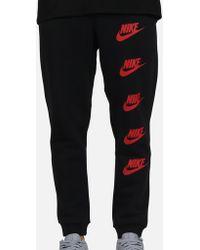 e002b1e28139 Lyst - Nike Flat Front Pant in Black for Men