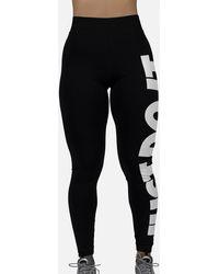 Nike W Nsw Legging Gx Hyper Femme in BlackWhite (Black) Lyst