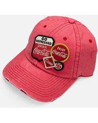 American Needle Coca Cola Iconic Cap - Red