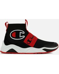 US 9.0 Men/'s Champion 93Eighteen Casual Shoes Red