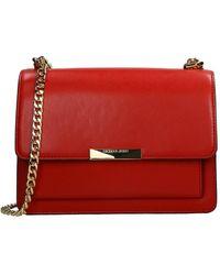 Michael Kors Jade Crossbody Tas Bright Red - Rood