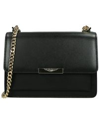 Michael Kors Jade Crossbody Tas Black - Zwart