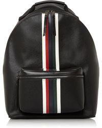 Dune Novano Trim Detail Backpack - Black