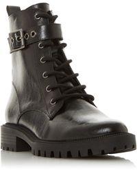 Dune Priyankaa Biker Boots - Black