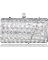 Roland Cartier Berniice Clutch Bag - Metallic