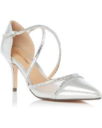 Roland Cartier Deliia Pointed Toe Court Shoes - Metallic