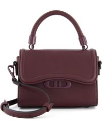 Dune Duddley Mini Handle Bag - Purple