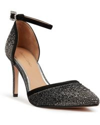 Roland Cartier Dottiie Diamante Court Shoes - Black