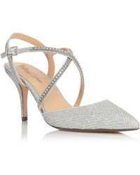 Roland Cartier Diina Pointed Court Shoes - Metallic