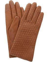 Dune 'inessa' Weave Gloves - Brown