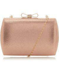 Roland Cartier Brisa Bow Clutch Bag - Pink