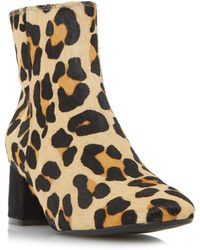 Dune | Oaklee Block Heeled Ankle Boots | Lyst