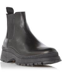 Bertie Colony Chunky Chelsea Boots - Black