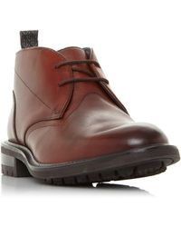 Ted Baker Astlee Lace-up Chukka Boots - Brown