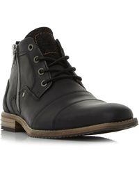 dune captains boots black