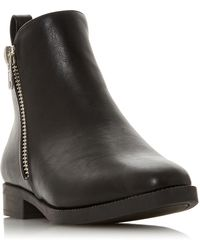Dune - Potina Round Toe Low Boot - Lyst