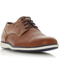 Dune - Men's 'bamfield' Perforated Derby Shoes - Lyst