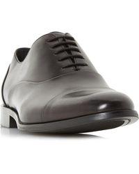 Dune Robb Round Toecap Oxford Shoe - Black