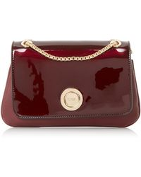 Dune Elfina Double Pocket Circle Lock Shoulder Bag - Multicolour
