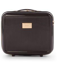 Dune Olive Vanity Hard Case Travel Bag - Black