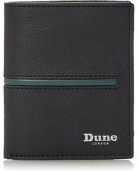 Dune Oxhill Rfid Bilfold Wallet - Black