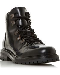 Dune Cache Lace Up Hiker Boot - Black