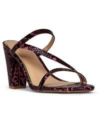 Dune Myraa Strappy Mule Sandals - Pink