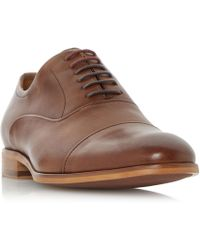 Dune | Soft Leather Toecap Oxford Shoe | Lyst