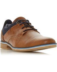 Dune Barinas Nubuck Gibson Shoe - Brown