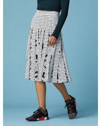 Diane von Furstenberg - Gardena Logo Skirt - Lyst