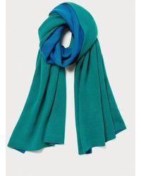 Diane von Furstenberg Prella Wool-cashmere Scarf - Blue