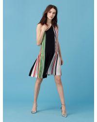 Diane von Furstenberg - One-shoulder Ribbon Dress - Lyst
