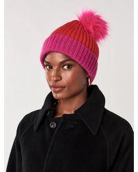 Diane von Furstenberg Allegra Wool-cashmere Beanie - Red
