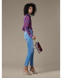 Diane von Furstenberg Levi's 501 Skinny Jeans - Blue