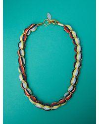 Diane von Furstenberg - Glass Beaded Necklace - Lyst
