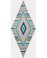 Diane von Furstenberg - Oblong Silk-twill Diamond Scarf - Lyst