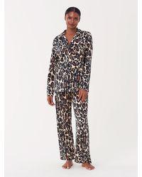Diane von Furstenberg Cotton-blend Pajama Set - Multicolor