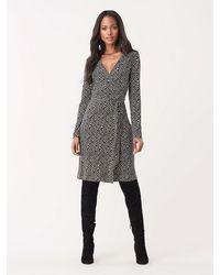 Diane von Furstenberg Julian Silk-jersey Wrap Dress - Black