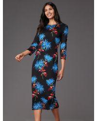 Diane von Furstenberg Saihana Dress - Black