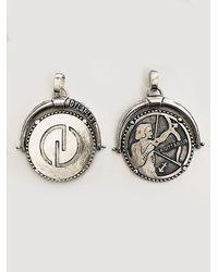 DYLANLEX Silver Zodiac Charm - Metallic