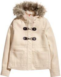 H&M Duffle Jacket - Lyst