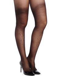 Kate Spade Embellished Sparkle Leg Tights - Lyst