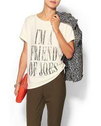 Haute Hippie Friend Of Joes Knit Sweatshirt - Lyst