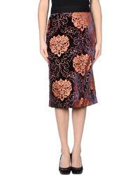 Rachel Roy - 3/4 Length Skirt - Lyst