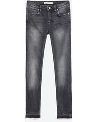 Zara   Mid-rise Skinny Jeans   Lyst