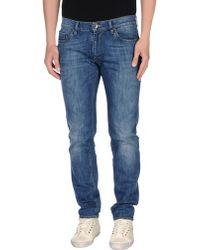 C+ Plus - Denim Trousers - Lyst