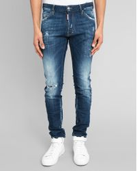 DSquared² Cool Guy Logo Stitched-Up Jeans - Lyst
