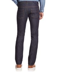 Façonnable - Washed Straight-leg Jeans - Lyst