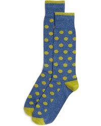 Bloomingdale's - Genova Dot Socks - Lyst