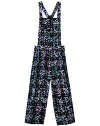 Tibi Floral Fields Jumpsuit - Lyst
